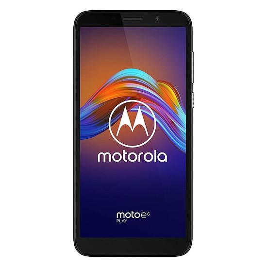 Smartphone et téléphone mobile Motorola Moto e6 Play Noir