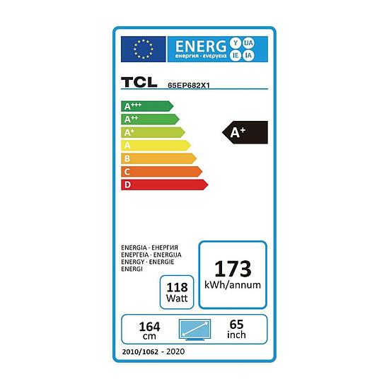 TV TCL 65EP682 - TV 4K UHD HDR - 164 cm - Autre vue