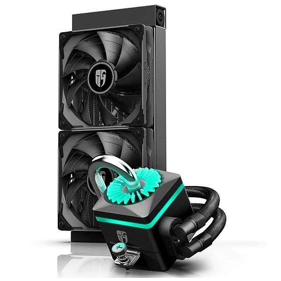 Refroidissement processeur Deepcool Gamer Storm Captain 240X - Noir - Autre vue