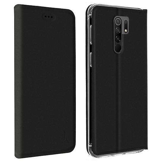 Coque et housse Akashi Etui Folio (noir) - Xiaomi Redmi 9 - Autre vue
