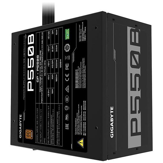 Alimentation PC Gigabyte GP-P550B - 550W - Bronze - Autre vue