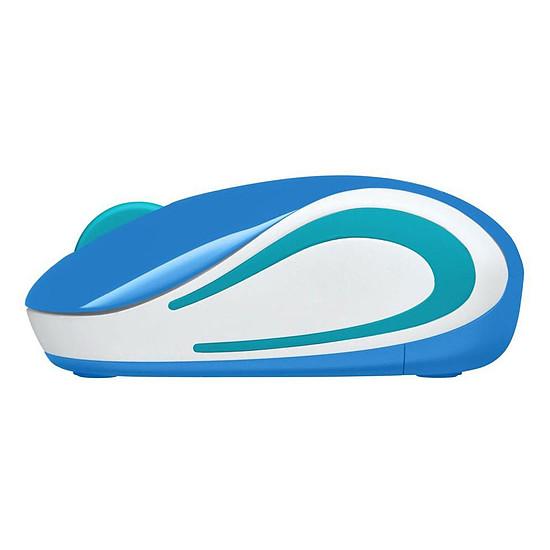 Souris PC Logitech M187 - Bleu - Autre vue