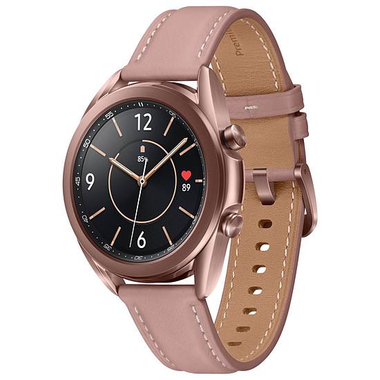 Montre connectée Samsung Galaxy Watch 3 (Mystic Bronze) - GPS - 41 mm