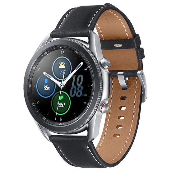 Montre connectée Samsung Galaxy Watch 3 (Mystic Silver) - 4G - 45 mm