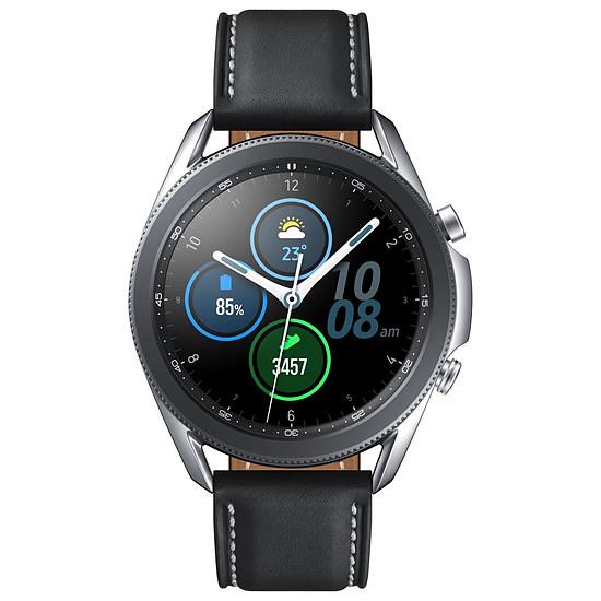 Montre connectée Samsung Galaxy Watch 3 (Mystic Silver) - GPS - 45 mm - Autre vue