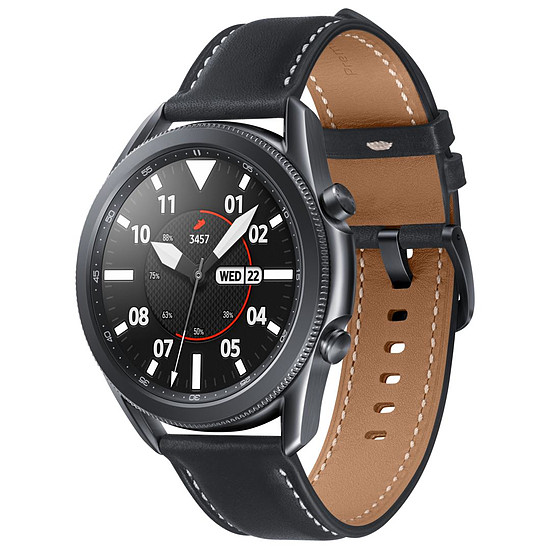 Montre connectée Samsung Galaxy Watch 3 (Mystic Black) - GPS - 45 mm