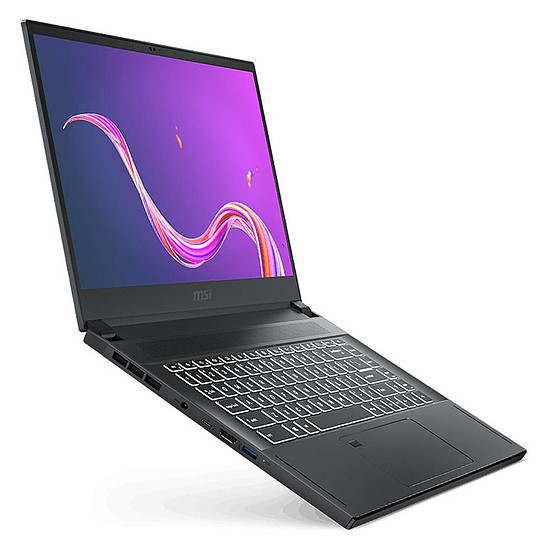 PC portable MSI Creator 15 A10SFS-021FR - Autre vue