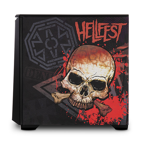 PC de bureau Materiel.net Hellfest Circle Pit [ Win10 - PC gamer ] - Autre vue