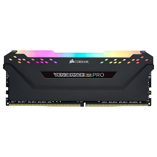 Mémoire Corsair Vengeance RGB Pro - 1 x 8 Go (8 Go) - DDR4 3600 MHz - CL18 - Ryzen Edition