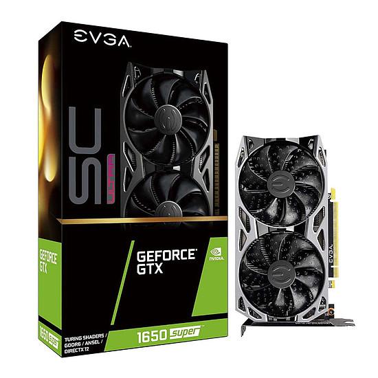 Carte graphique EVGA GeForce GTX 1650 SUPER SC ULTRA