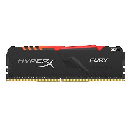 Mémoire HyperX Fury RGB - 1 x 32 Go (32 Go) - DDR4 3466 MHz - CL17