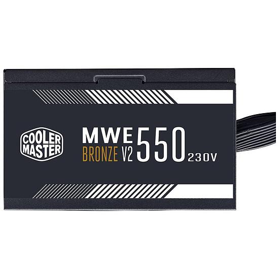 Alimentation PC Cooler Master MWE 550W V2 - Bronze - Autre vue