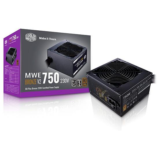 Alimentation PC Cooler Master MWE 750W V2 - Bronze