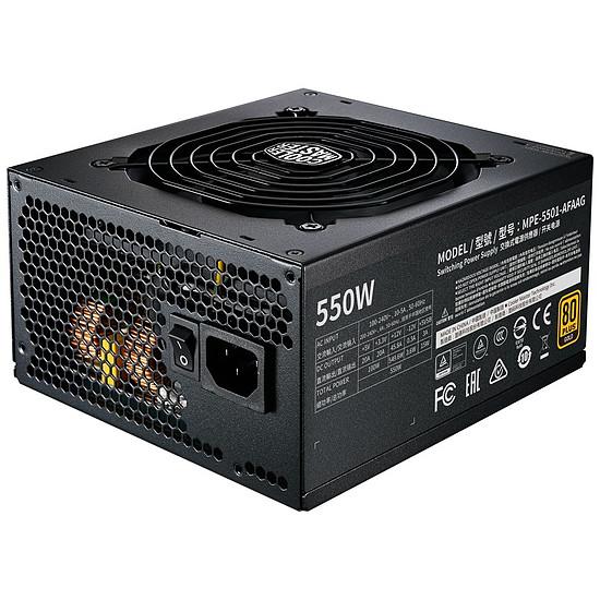 Alimentation PC Cooler Master MWE 550W FM V2 - Gold