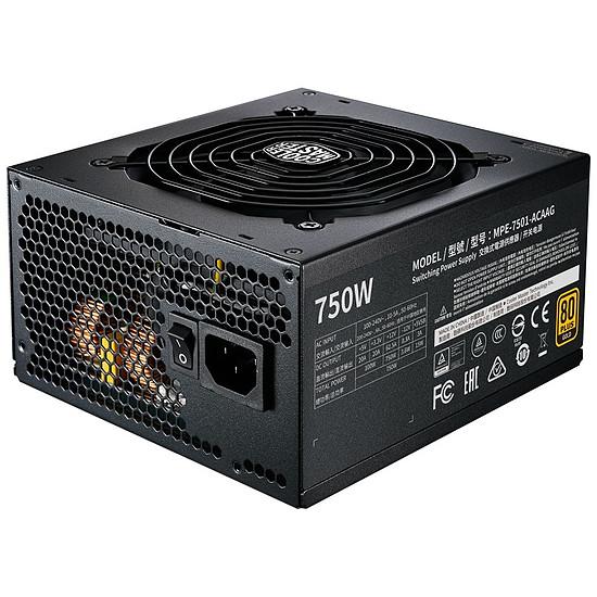 Alimentation PC Cooler Master MWE 750W FM V2 - Gold
