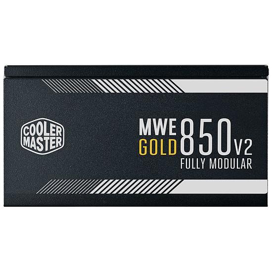 Alimentation PC Cooler Master MWE 850W FM V2 - Gold - Autre vue