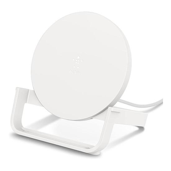 Chargeur Belkin chargeur à induction Stand (blanc) - USB A - 10W (avec adaptateur secteur Quick Charge 3.0)
