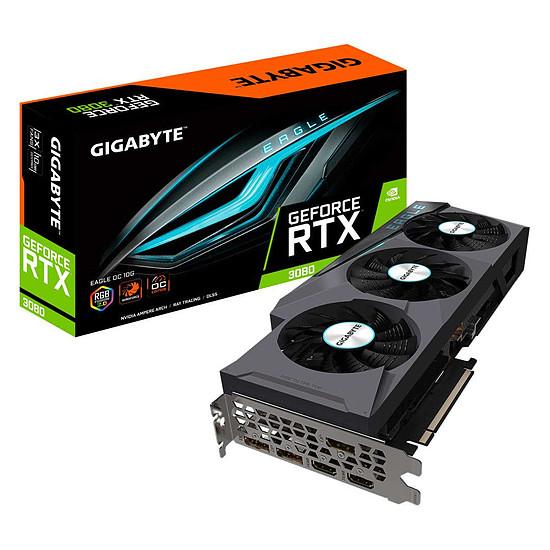 Carte graphique Gigabyte GeForce RTX 3080 EAGLE OC 10G