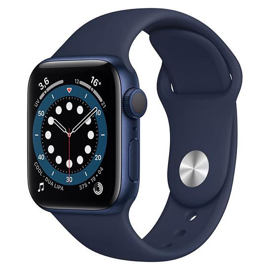Montre connectée Apple Watch Series 6 Aluminium (Bleu - Bracelet Sport Bleu) - GPS - 40 mm