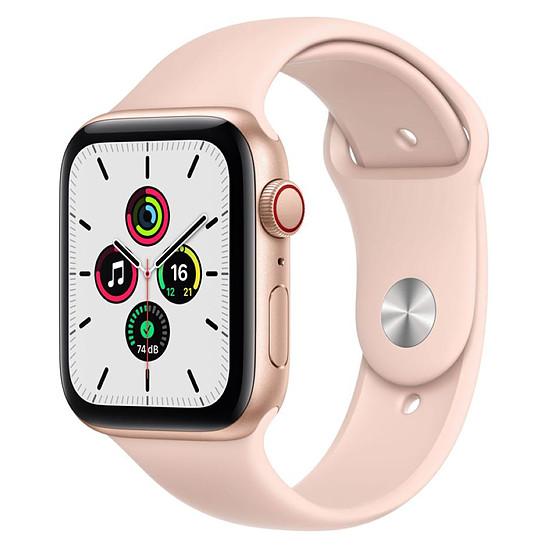 Montre connectée Apple Watch SE Aluminium (Or - Bracelet Sport Rose) - Cellular - 44 mm