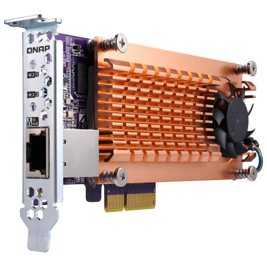 Accessoires serveur NAS QNAP QM2-2P10G1TA