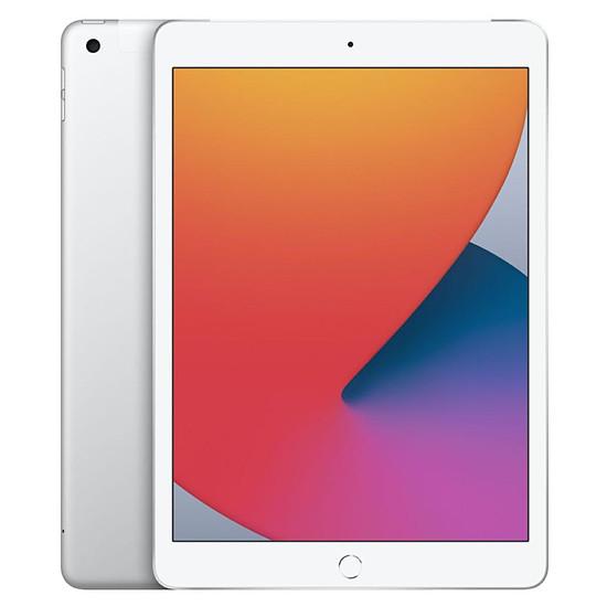 Tablette Apple iPad Wi-Fi + Cellular 10.2 - 128 Go - Argent (8 ème génération)