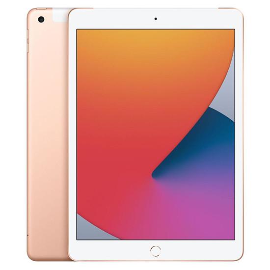 Tablette Apple iPad Wi-Fi + Cellular 10.2 - 128 Go - Or (8 ème génération)