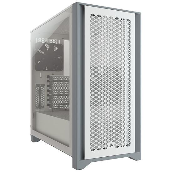 Boîtier PC Corsair 4000D Airflow - Blanc
