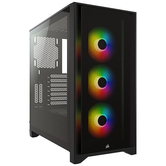 Boîtier PC Corsair  ICUE 4000X - Noir