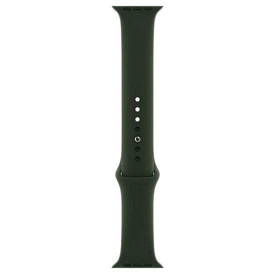 Accessoires montre et bracelet Apple Bracelet Sport vert de Chypre 44 mm - Regular