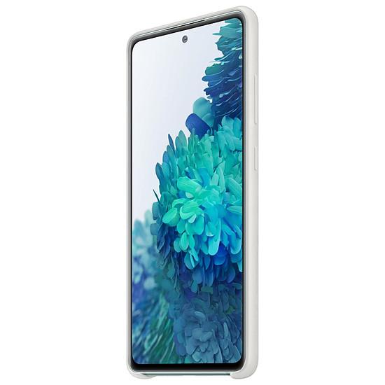 Coque et housse Samsung Coque Silicone Blanc Galaxy S20 FE