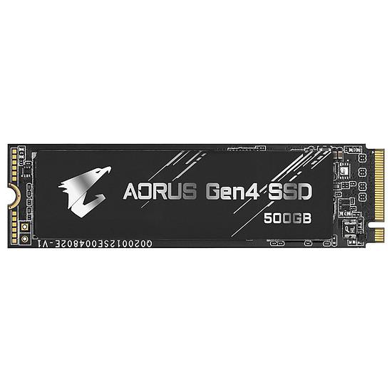 Disque SSD Aorus M.2 Gen 4 Black - 500 Go