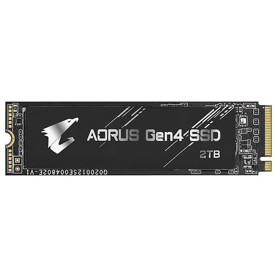 Disque SSD Aorus M.2 Gen 4 Black - 2 To
