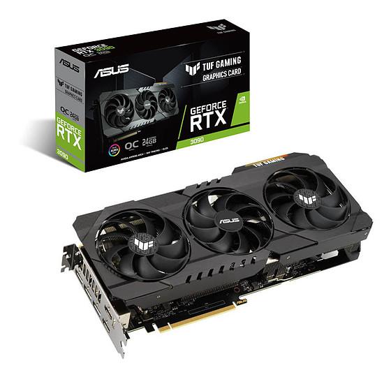 Carte graphique Asus GeForce RTX 3090 TUF OC