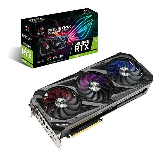 Carte graphique Asus GeForce RTX 3090 ROG STRIX OC
