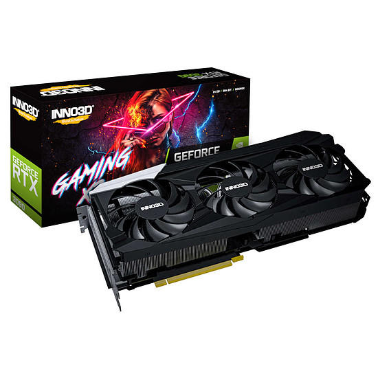Carte graphique Inno3D GeForce RTX 3090 GAMING X3
