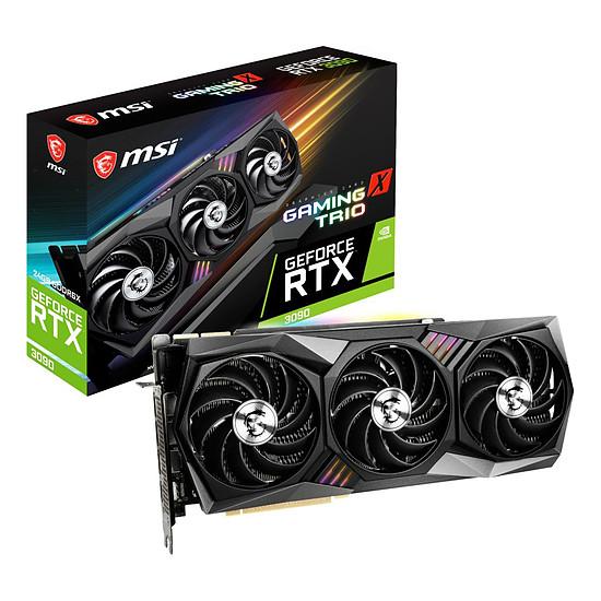 Carte graphique MSI GeForce RTX 3090 Gaming X TRIO