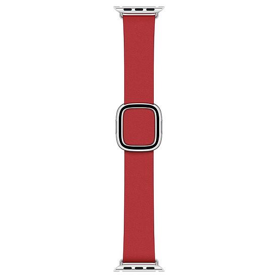 Accessoires montre et bracelet Apple Bracelet Boucle moderne écarlate 40 mm - Medium