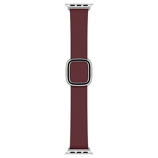 Accessoires montre et bracelet Apple Bracelet Boucle moderne grenat 40 mm - Medium