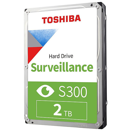 Disque dur interne Toshiba S300 - 2 To - 128 Mo
