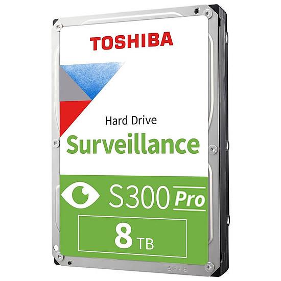 Disque dur interne Toshiba S300 Pro - 8 To - 256 Mo