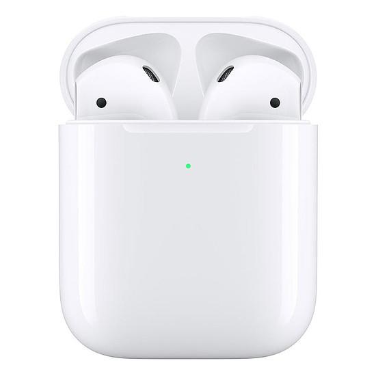 Casque Audio Apple AirPods 2 avec boîtier de charge sans fil - Écouteurs sans fil