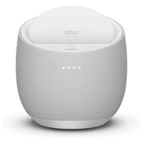 Enceinte sans fil Belkin X Devialet Soundform Elite Blanc (Google Assistant) - Enceinte connectée