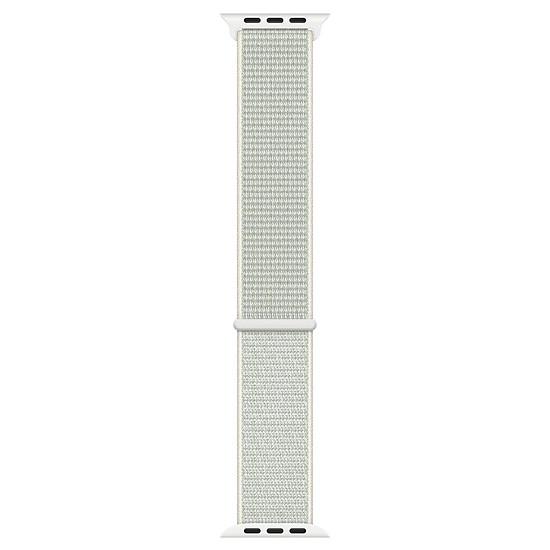 Accessoires montre et bracelet Apple Boucle Sport Nike Blanc polaire 40 mm