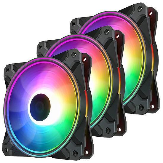Ventilateur Boîtier Deepcool CF120 PLUS - Pack de 3