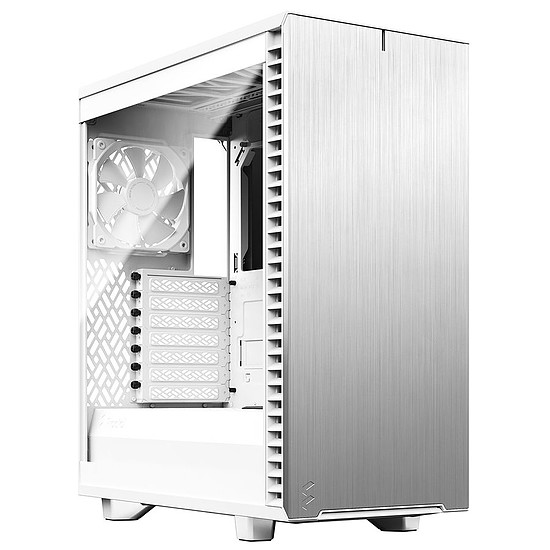 Boîtier PC Fractal Design Define 7 Compact Light TG - Blanc