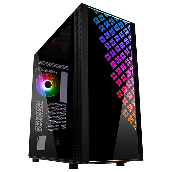 Boîtier PC BitFenix Dawn TG - Noir