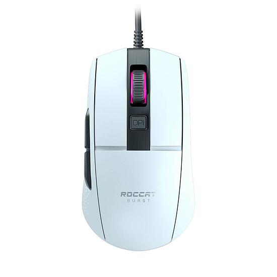 Souris PC Roccat Burst Core - Blanc