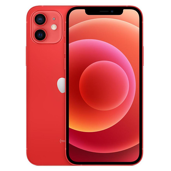 Smartphone et téléphone mobile Apple iPhone 12 (PRODUCT)RED - 128 Go