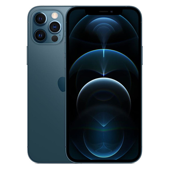 Smartphone et téléphone mobile Apple iPhone 12 Pro (Bleu Pacifique) - 128 Go